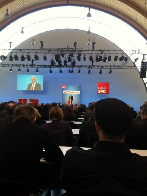 Garrelt Duin beim Energiekongress der NRWSPD.