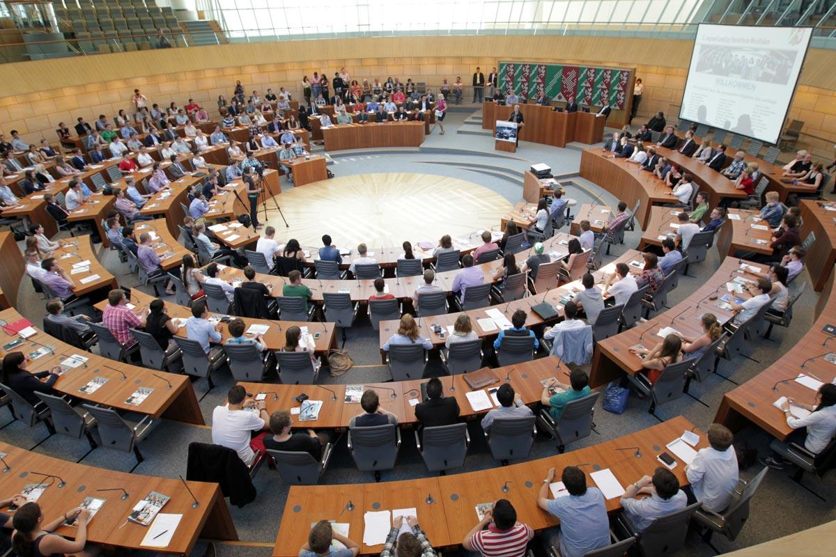 Jugend-Landtag 2015 © Landtag NRW